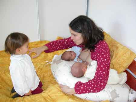 position allaitement bébé
